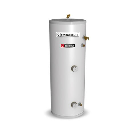 Gledhill 210 Litre Stainless Lite Plus Direct Unvented Cylinder