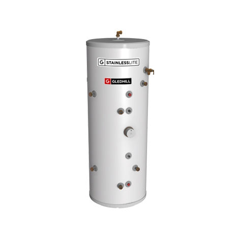 Gledhill 250 Litre Stainless Lite Plus Solar Direct Open Vented Cylinder