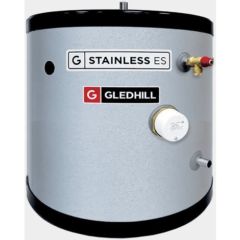 Gledhill 90 Litre Stainless ES Indirect Unvented Cylinder