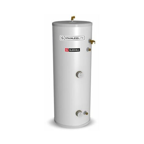 """main image of """"Gledhill Stainless Lite Pro Direct Unvented Hot Water Cylinder 120 Litre"""""""