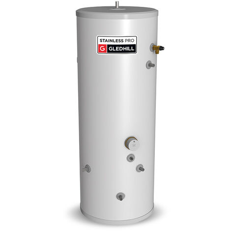 """main image of """"Gledhill Stainless Lite Pro Indirect Unvented Hot Water Cylinder 90 Litre"""""""