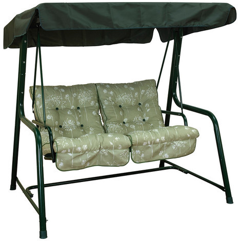 Glendale Vienna 2 Seater Swing Seat - Renaissance Sage