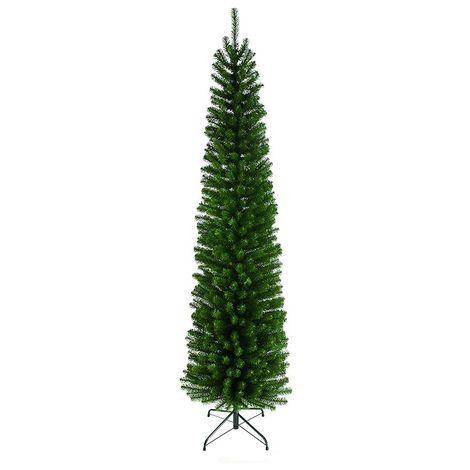 Glenmore Pine Christmas Tree - Slim Green Pencil Pine - 198 CM
