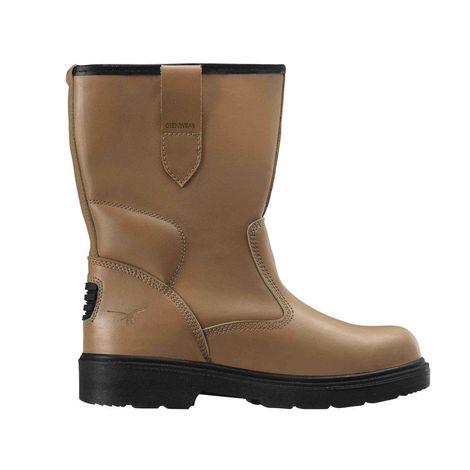 Glenwear Unisex Adults Forbes Safety Rigger Boots (5 UK) (Light Brown)