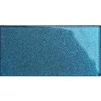 Glitter Blue Glass Bathroom Kitchen Splashbacks Mosaic Metro Tiles MT0110