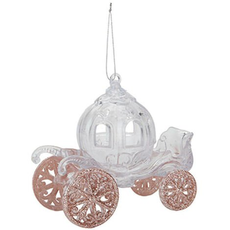 Glitter Carriage Decoration