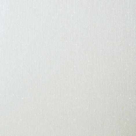 Glitter Encrusted Luxury Vinyl Wallpaper Sparkle Shiny Shimmer White Debona