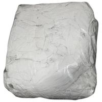 GLOBAL HYGIENE - Chiffons coton blancs - sac 5 Kg