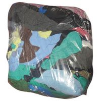 GLOBAL HYGIENE - Chiffons coton couleur - sac 5 Kg
