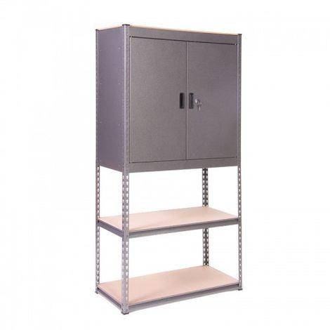 Globel Silver Vein Heavy Duty Cupboard
