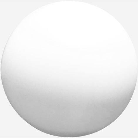 Globo Iluminacion Diametro 25 cm POLIETILENO BLANCO con Boca 10 cm