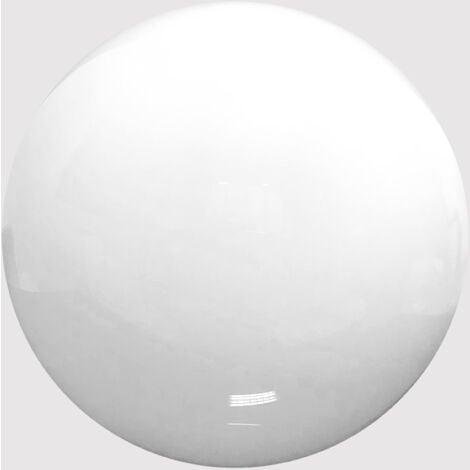 Globo Iluminacion Diametro 55 cm POLICARBONATO BLANCO con Boca 18 cm