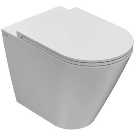 Globo Inodoro de suelo 36x52 cm de cerámica Forty3