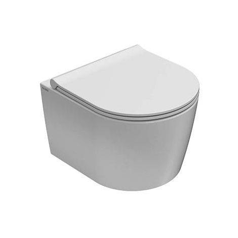 Globo Inodoro suspendido 36x43 cm de cerámica Forty3