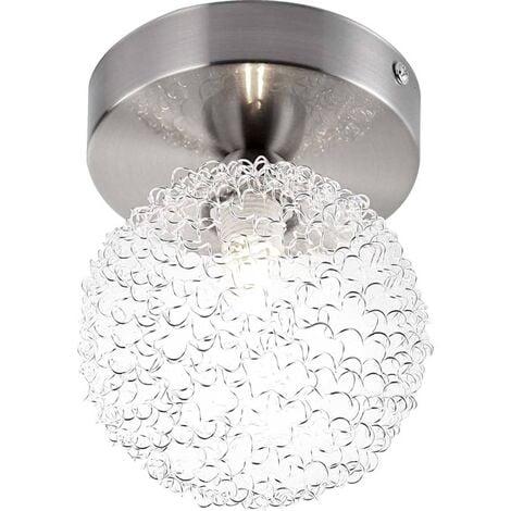 GLOBO Lámpara ENIGMA níquel mate 56620-1