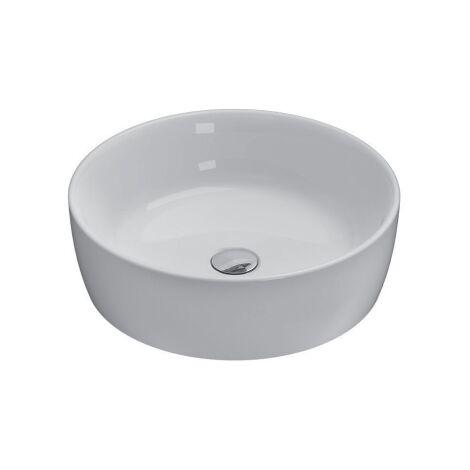 Globo lavabo de encimera Ø 48 cm de cerámica Bowl+