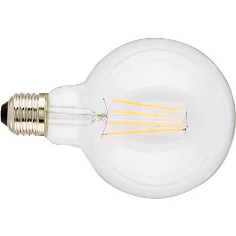 Globo LED 8W E27 DIM Clear