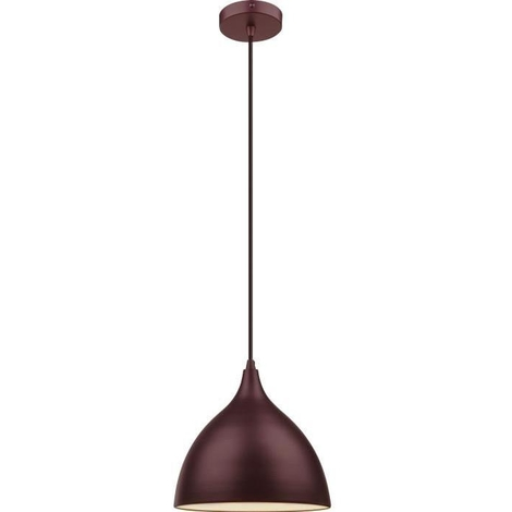 Luminaire Globo Cm 120 230v Suspension Bronze Et 25 17355 Blanc Diametre Hauteur Lighting 60w Mat fgb7y6