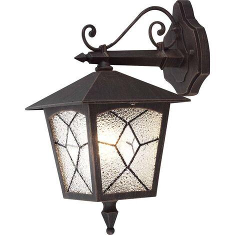 GLOBO Outdoor Wall Lamp ATLANTA Aluminium Black 3125