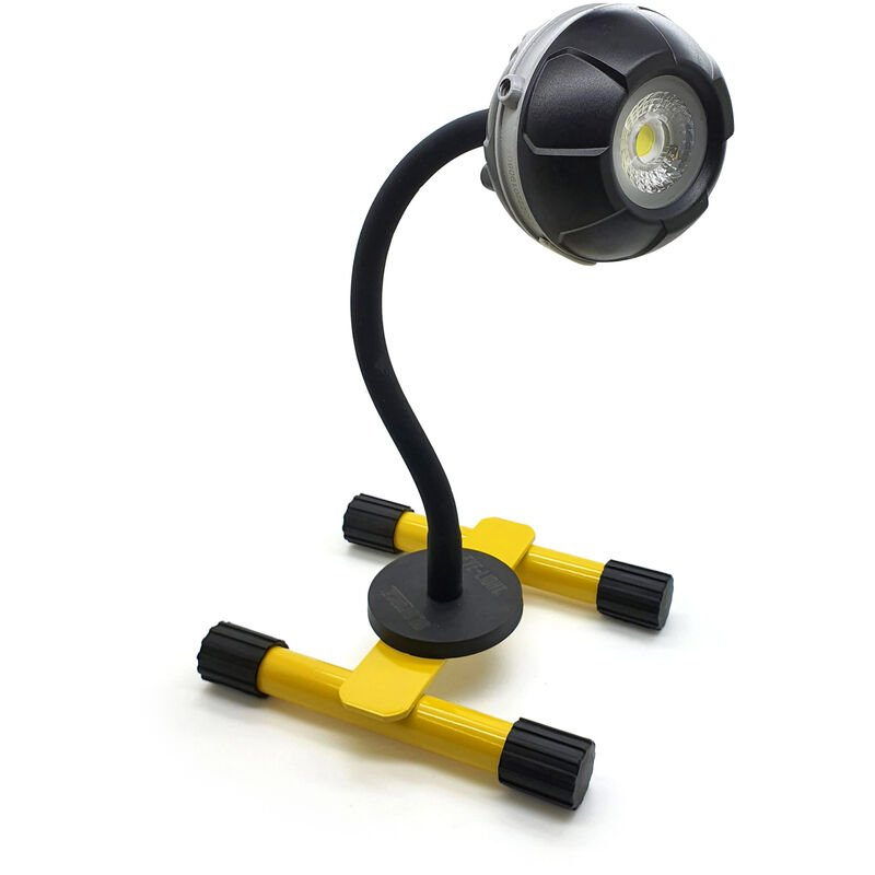 Image of Eye-light Plus 10w rechargeable floodlight with 270mm magnetic goo - Gloforce