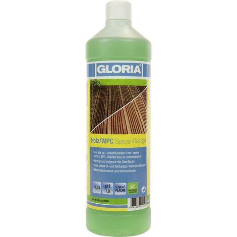 Gloria Haus und Garten 001120.0000 Holz/WPC Schaumreiniger 1 Liter X377301