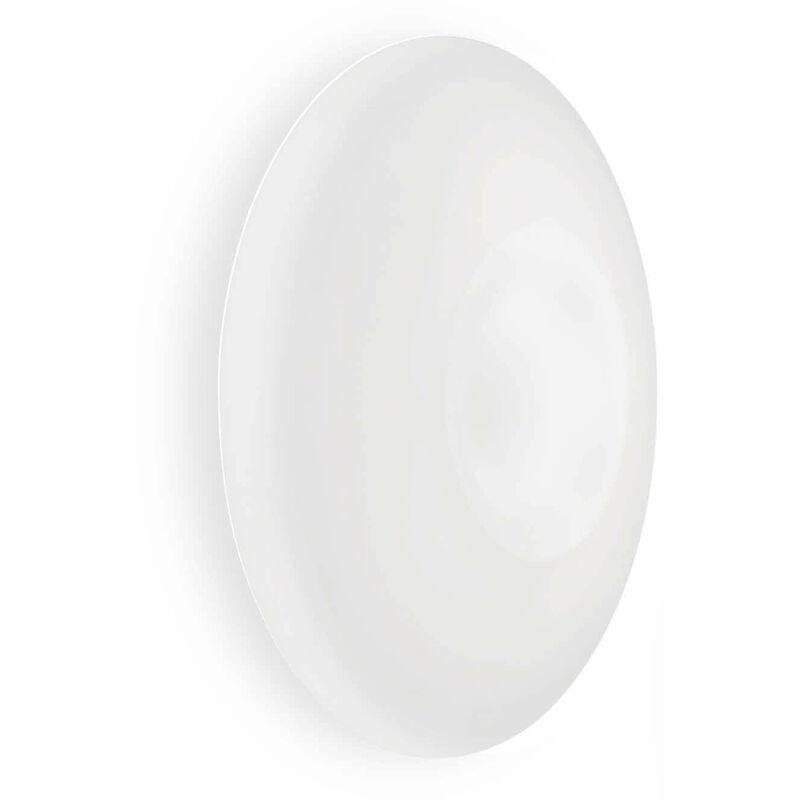 01-ideal Lux - GLORY weiße Deckenleuchte 5 Glühbirnen