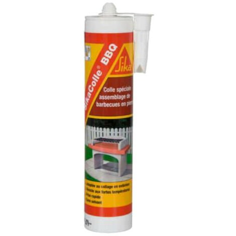 Glue for assembling small stone barbecues - SIKA SikaColle BBQ - Light beige - 500g