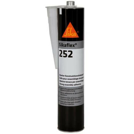 Glue for structural assemblies - SIKA Sikaflex 252 - White - 300ml