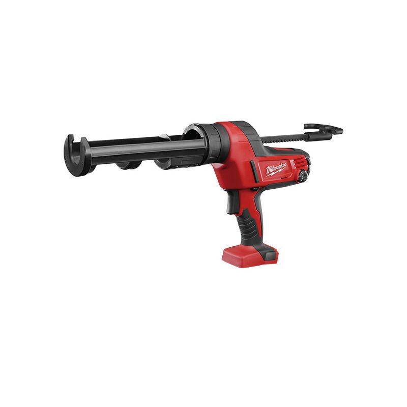 Image of Milwaukee C18 PCG/310C Caulking Gun 310ml Cartridge M18 Bare Unit - MILC18CG3102