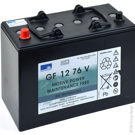 GNB Sonnenschein GF-V - Batería plomo de tracción SONNENSCHEIN GF-V GF12076V 12V 76Ah Auto