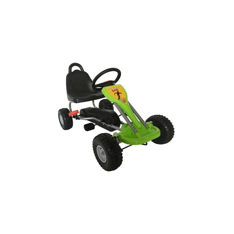 Image of GALACTICA Go Kart FH-G04 Green