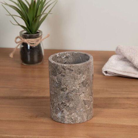 Gobelet en marbre gris