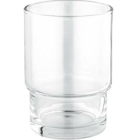 Gobelet verre pour support Essentials chrome livré sans support