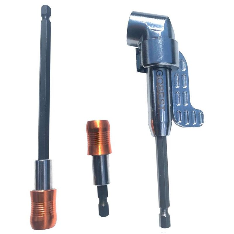 Image of GOBEST bit holders set 60 & 150mm & angle bit driver 140mm magnetic angled 105°