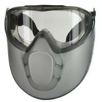 goggle with anti-fog visor face STORMLUX Security + LUX OPTICAL PROTECTION 60650 EURO