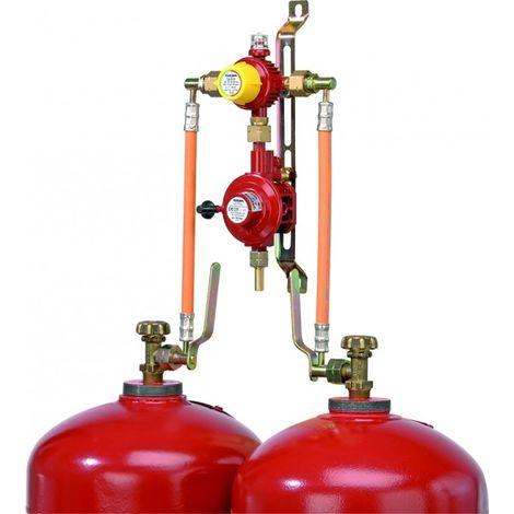 GOK 2-Flaschenanlage / automatisch / 50 mbar / 4 kg/h