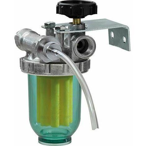 GOK filtre mono-tube 3/8 avec valve anit-retour UA 8/10mm SIKU-70µm