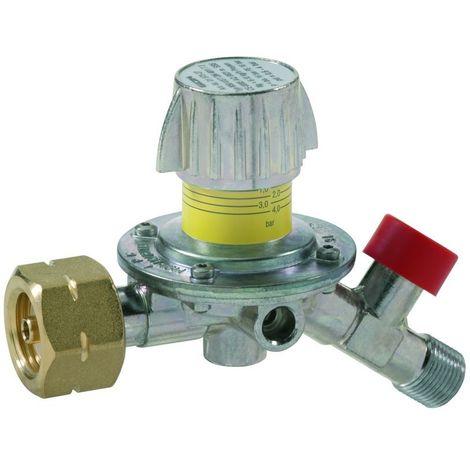 GOK Mitteldruckregler mit Kombinationsanschluss Typ M50-V/ST verstellbar Abgang 35°