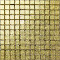 Gold Glitter Glass Mosaic Tiles Bathroom Bath Splashback Border MT0080