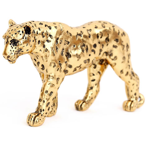 Gold Leopard Decoration