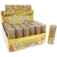 Gold Metallic Spray Paint 250ml