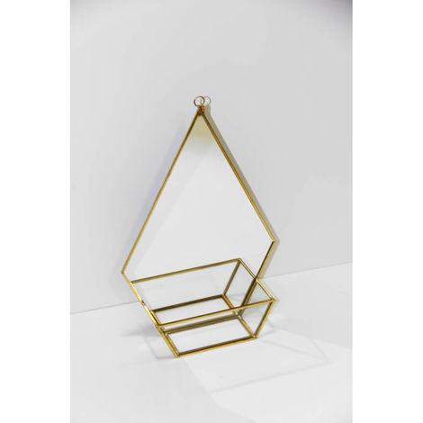 Gold Shelf Mirror
