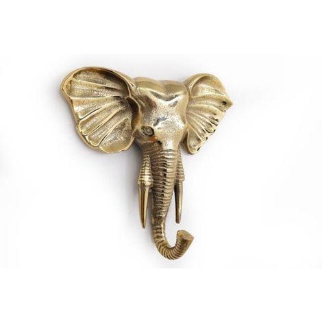 Golden Elephant Hanging Decoration