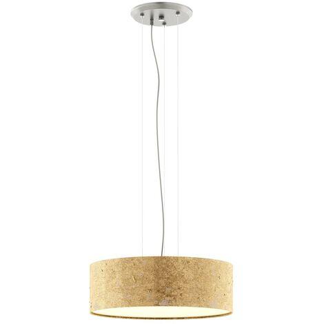 Golden pendant light Aura - made in Germany