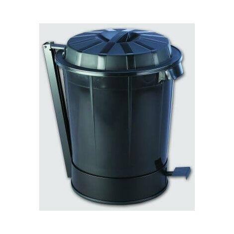 Contenedor residuos con peda C// pedal Tayg azul 120 l VE Contenedor de residuos Eco 120 l