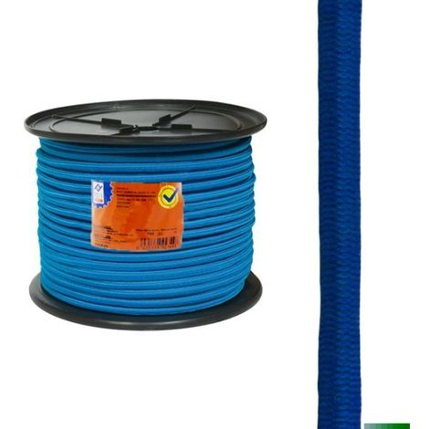Goma Elastica Carret.6mm Azul - NEOFERR - PH0676 - 200 M
