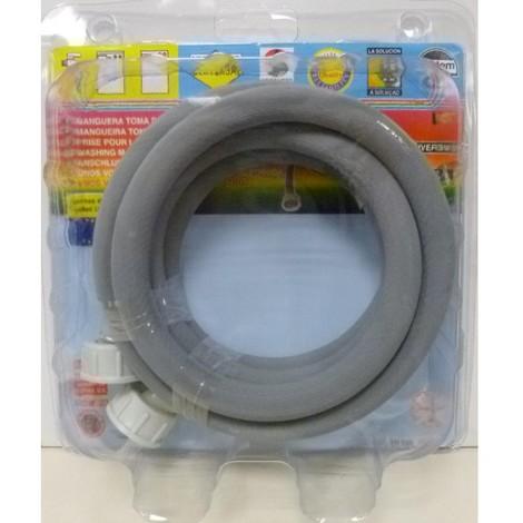 Goma entrada lavadora 2,00mt con juntas s&m