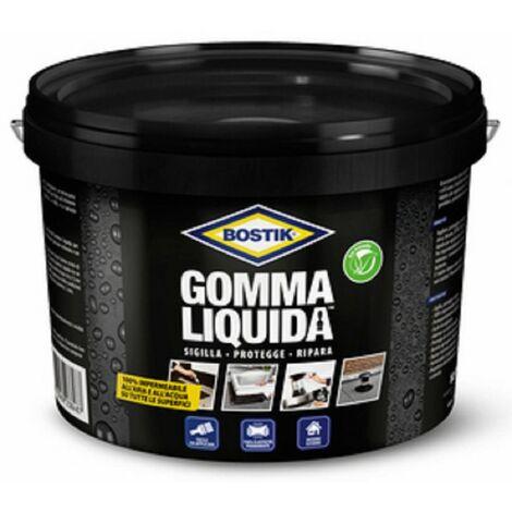 Gomma liquida bostik kg 5 impermeabile per interno esterno - Salone