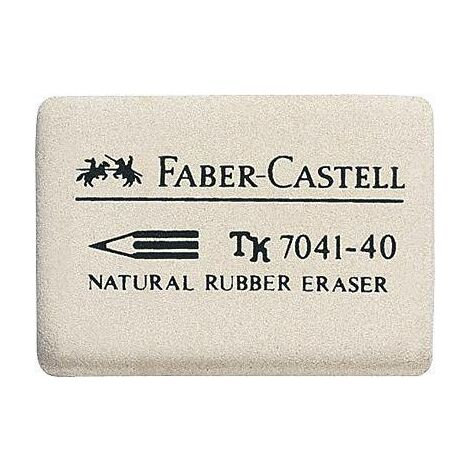 Gomme Faber-Castell 7041-40 / 184140 34 x 26 x 8 mm Y21037
