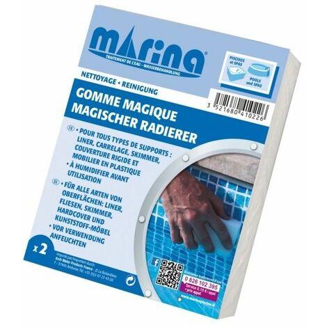 Gomme magique - Pack de 2 Marina